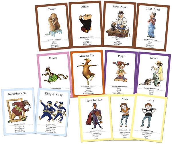 Barnboksvännerna korten