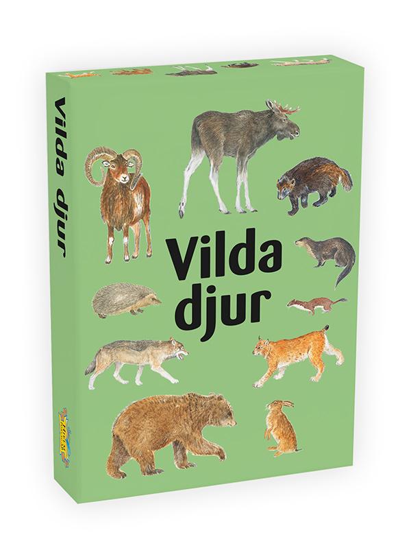 3171 vilda djur ask