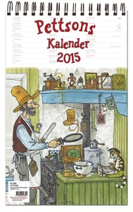 Pettson och Findus kalender 2015