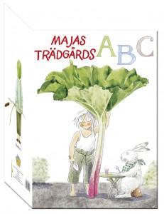 Maja trädgårds ABC omslag
