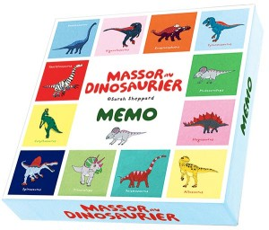 Massor av Dinosaurier memo