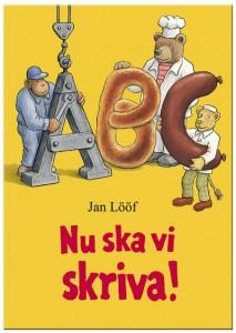 Omslag till Jan Lööfs Nu ska vi skriva
