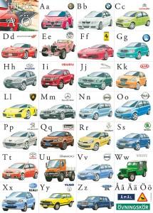 Bilarnas ABC. Bilar från hela världen A-Ö